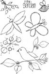 Squiggly Ink - Flora & Fauna 4